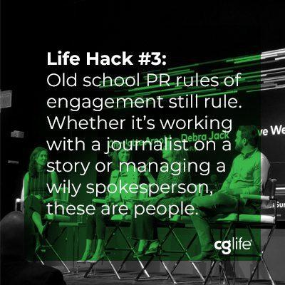 Life Hack 3 Old School PR Rules