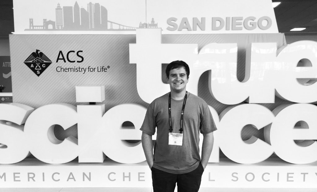 CJ Fisher, Ph.D. at ACS San Diego Scientific Conference
