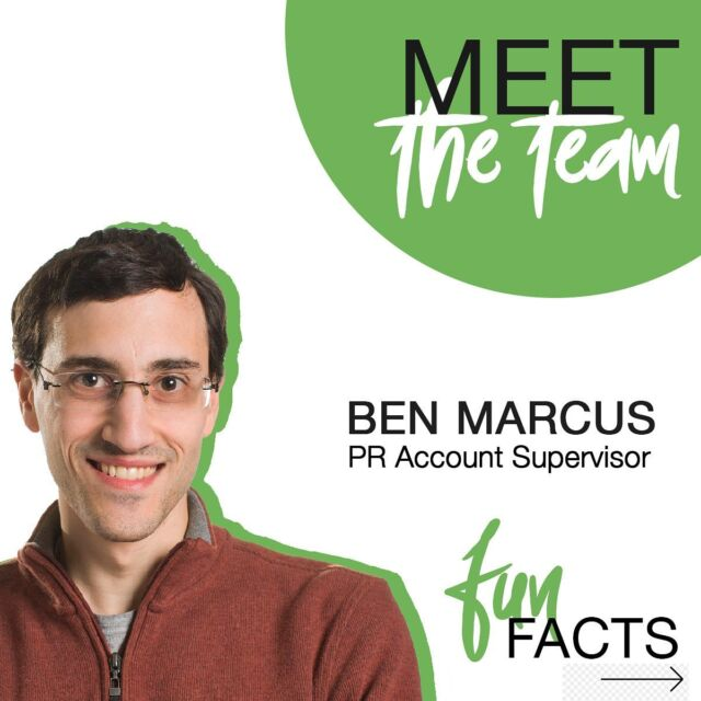 PR Account Supervisor by day, swing dancer by night! Swipe 👈 to get to know more about our very own Ben Marcus (@litepaintart )!
